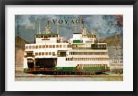 Framed Voyage To Puget Sound