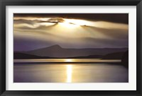 Framed Evening Splendour
