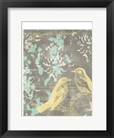 Framed Pretty Birds I