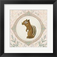 Forest Cameo II Framed Print