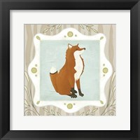 Forest Cameo III Framed Print