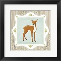 Forest Cameo VII Framed Print
