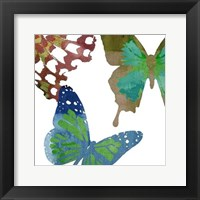 Framed Scattered Butterflies II