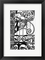 Framed Wrought Iron Elegance II