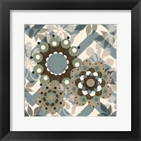 Chambray Rosettes & Finials I Framed Print