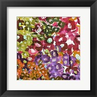 Framed Floral Barrage II