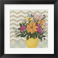 Patterns & Petals I Framed Print