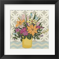 Patterns & Petals II Framed Print