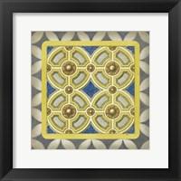 Classic Tile II Framed Print