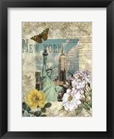Eternal New York Framed Print