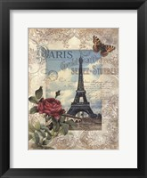 Framed Eternal Paris
