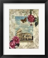 Eternal Rome Framed Print