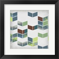 Broken Chevron II Framed Print