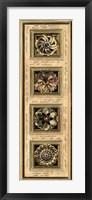Rosette Panel II Framed Print