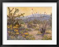 Framed Desert Repose IV