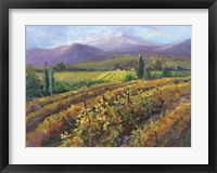 Framed Vineyard Tapestry I
