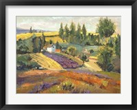 Framed Vineyard Tapestry II