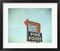 Framed Vintage Diner II