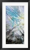 Crosstalk Panel I Framed Print