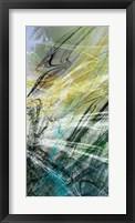 Crosstalk Panel II Framed Print