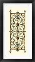 Verdigris Panel II Framed Print