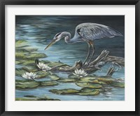 Framed Heron Haven