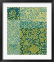 Pattern Mix II Framed Print