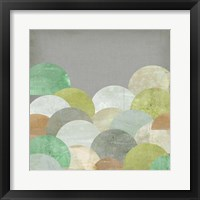 Scalloped Landscape II Framed Print