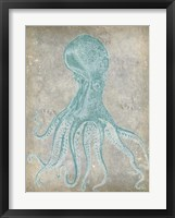 Spa Octopus II Framed Print