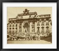 Framed Trevi Fountain