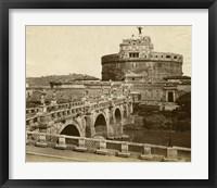 Framed Caste of St. Angelo