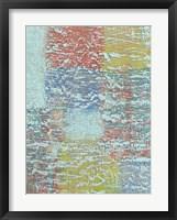 Bold Textures II Framed Print