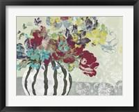 Spray of Flowers I Framed Print