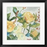 June Bouquet I Framed Print