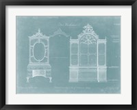 Two Bookcases Framed Print