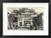 Scenes in China V Framed Print