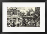 Scenes in China VIII Framed Print