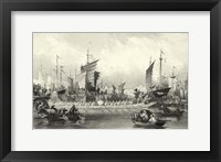 Scenes in China XI Framed Print