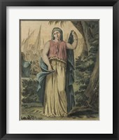 Theatrical Costumes IV Framed Print