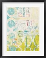 Lattice Progression I Framed Print