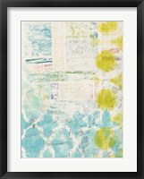 Lattice Progression II Framed Print