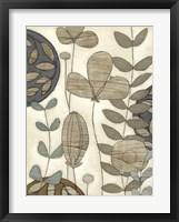 Garden Contours II Framed Print