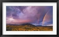 Framed Double Rainbows