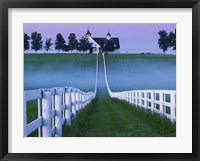 Framed Horse Farm Lexington