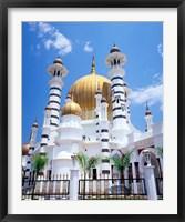 Framed Malaysia, Peninsular Malaysia, Perak, Kuala Kangsar, Ubudiah Mosque