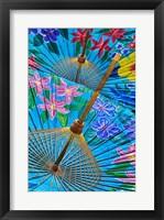 Framed Decorative umbrellas, Chiang Mai, Thailand