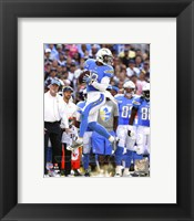 Framed Keenan Allen in the air  2014