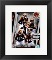 Framed Cincinnati Bengals 2014 Team Composite