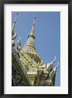 Framed Roof detail, Grand Palace, Bangkok, Thailand