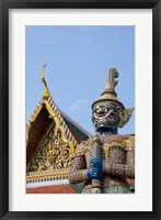 Framed Statue at The Grand Palace, Bangkok, Thailand